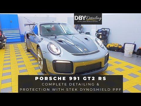 Türkiye'de İlk ve Tek! Porsche 911 GT2 RS Komple Şeffaf Kaplama ve Detay Uygulamaları !
