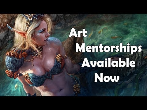 Art Mentorships Now Available