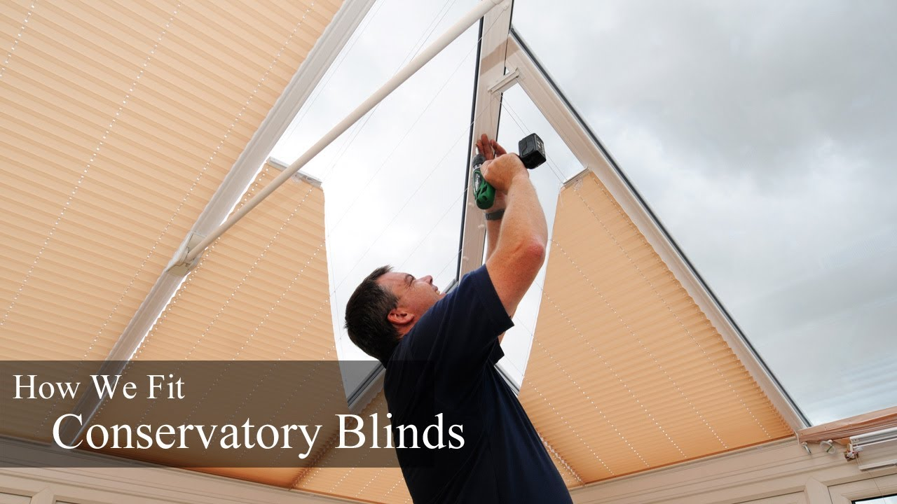 Conservatory blinds installation how we fit conservatory blinds conservatory blinds installation how we fit conservatory blinds youtube solutioingenieria Image collections
