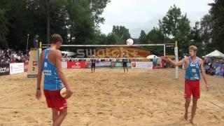 Semenov Koshkarev RUS vs Rogers Dalhausser USA R2 Mazury 2011