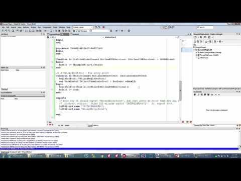 Developer Skill Sprint - Developing Plugins in RAD Studio