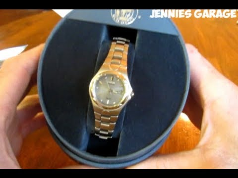 Citizen Women's Eco-Drive Corso Stainless Steel Watch Unboxing - Nice Ladies Timepiece