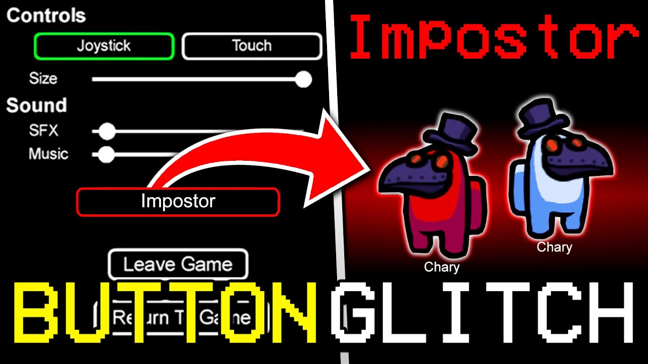 Download SECRET GLITCH BUTTON TO GET IMPOSTER EVERY TIME IN AMONG US MOBILE! (iOS/ANDROID/PC)