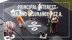 Principal Interest Tax and Insurance P.I.T.I.