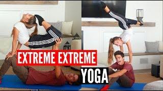 EXTREME YOGA CHALLENGE x2!   Brent Rivera
