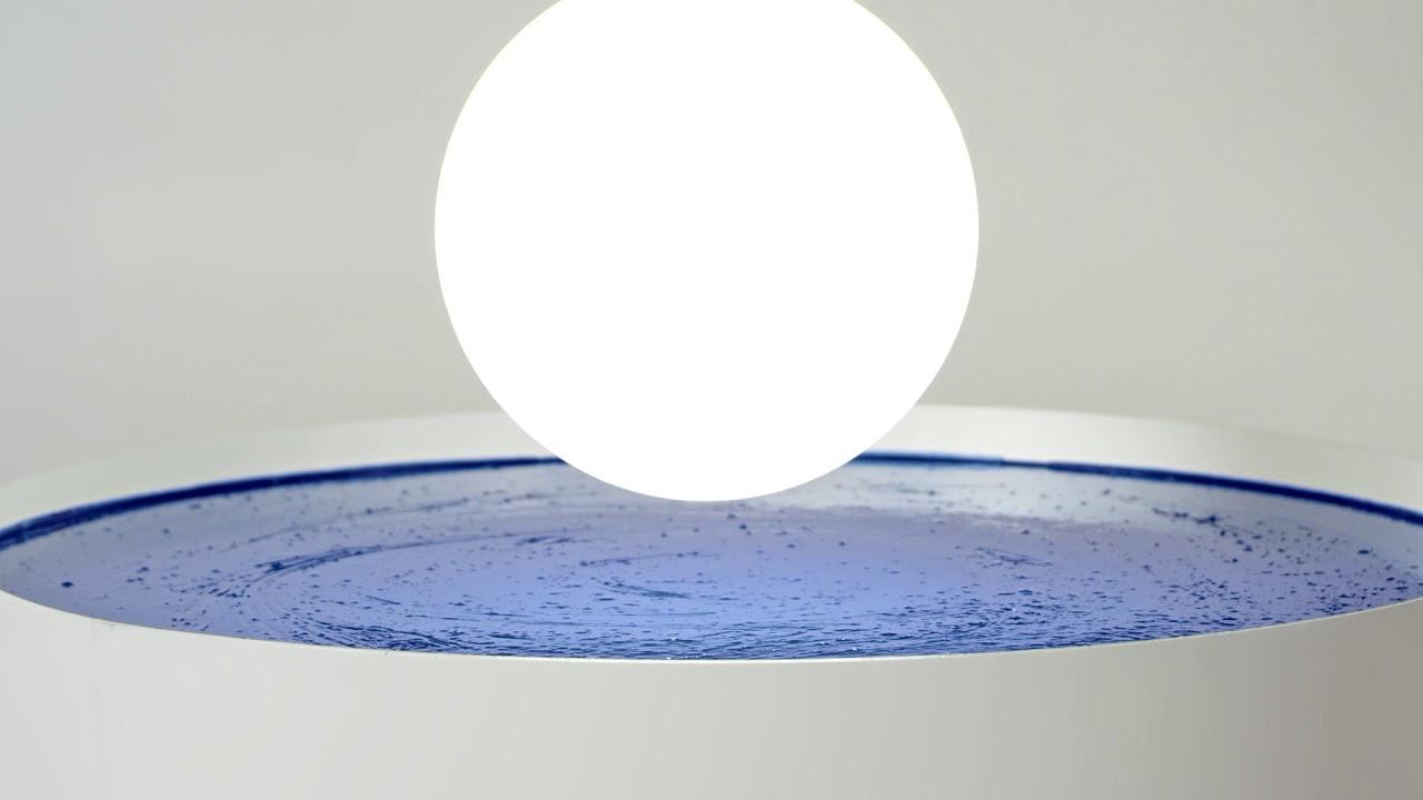 Dipping Light Graphite batteri bordlampe Lampefeber