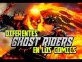 Ghost Riders - Personajes que han portado la identidad del vengador fantasma