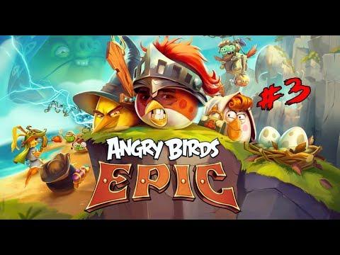 Bombacı Mülayim Ekibe Katıldı - Angry Birds Epic # 3