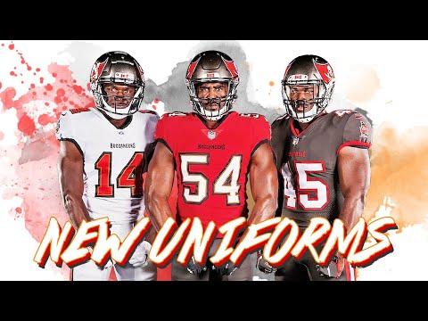 The Tampa Bay Buccaneers New Uniform Reveal Reaction!