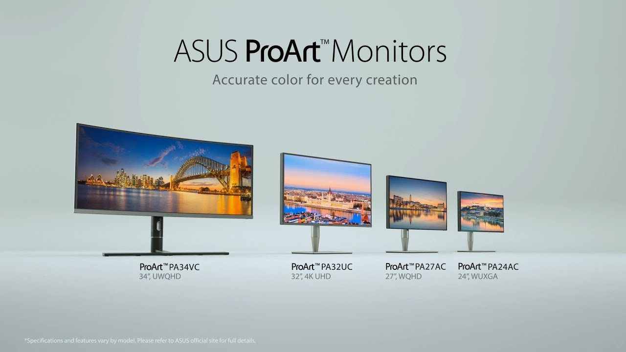 ASUS ProArt Series Monitor Product Video