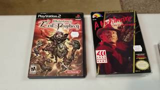 Live Retro Video Game Hunting #89 Flea Market & Thrift Store Finds... Horror Games Galore!!