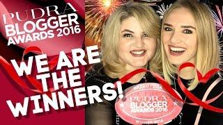 УРА! ПОБЕДА на PUDRA BLOGGER AWARDS 2016!! Как это было?(Привет! В этом влоге я покажу церемонию вручения блогерского ОСКАРА – PUDRA BLOGGER AWARDS 2016, где я была выдвинута..., 2016-11-14T14:00:02.000Z)