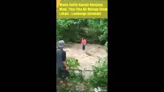 Download Video Mania Selfie Hampir Berujung Maut, Tiba-Tiba Air Meluap Deras Lokasi : Lombongo Gorontalo MP3 3GP MP4