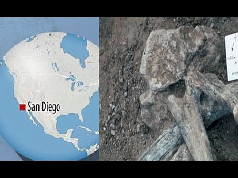 Dramatic discovery.. Humans were in America 115,000 years EARLIER than thought