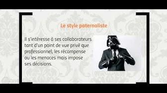 Management -Les styles de management