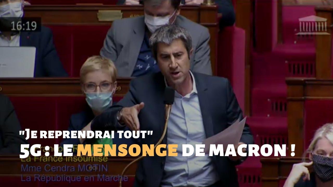 5G : Le mensonge de Macron !