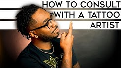 Tattoo advice : How to consult with a tattoo artist