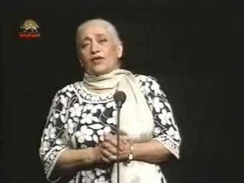 Marzieh Banooye Avaze Iran Sange Khara