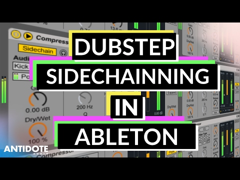 Ableton Tutorial: How To Sidechain Bass to Drums in Dubstep & More