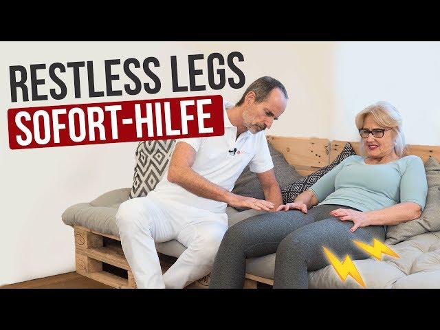 Restless Legs - Soforthilfe Übungen für Zuhause | Liebscher & Bracht