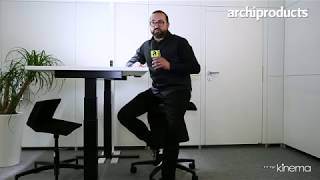 Orgatec 2018 | mykinema® - Stefan Zoell presents the office chair