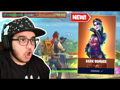 *NEW* Fortnite Dark Bomber - فورت نايت افضل سكن وصل + ابعد طلقة سنايبر !