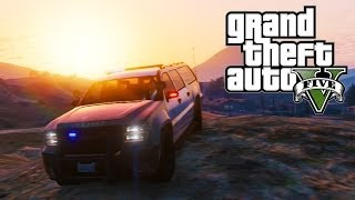 GTA 5 Online - Customizable Police Sheriff SUV Location Guide (GTA V)