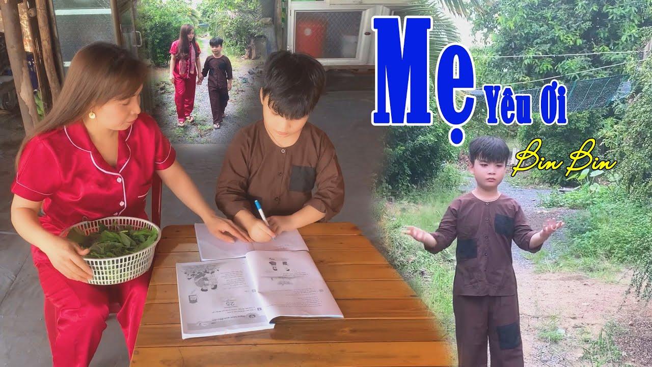 Download Mẹ Yêu Ơi   Cover Bin Bin   Thần đồng  Bin Bin 7 tuổi diễn cùng với mẹ đẻ thật cảm động