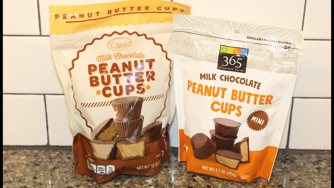 Choceur Aldi Vs 365 Everyday Value Whole Foods Milk Chocolate Peanut Butter Cups Blind Taste Test