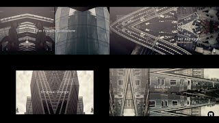 Film Frames Slideshow Modular Template for Apple Motion & FCPX