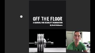 Kreuzheben Programm - Deadlift OFF THE FLOOR Review v. David Dellanave