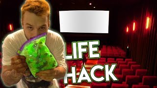 I Sneaked Unlimited Candy Into A Cinema With This Simple Life Hack