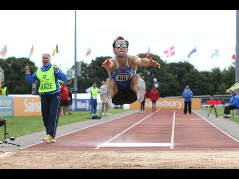 Men's long jump T11 | 2014 IPC Athletics European Championships Swansea