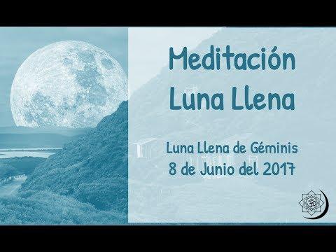 🌕 Luna Llena de Junio · Meditación Guiada en Directo 8 de junio de 2017 · MUNDO PRÁNICO 🌕