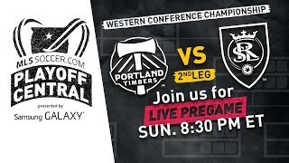 Portland Timbers vs. Real Salt Lake Live Pregame Show
