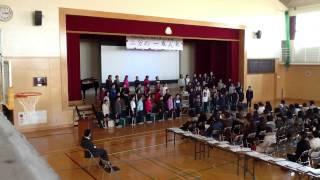Repeat youtube video 2分の1成人式 合唱発表(平成25年2月8日)