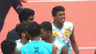 Khelo India Youth Games Highlights | Volleyball Gold Medal matches | 20th January 2019