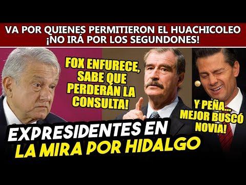 Obrador m�s convencido de ir por expresidentes despu�s de lo ocurrido al ducto en Hidalgo
