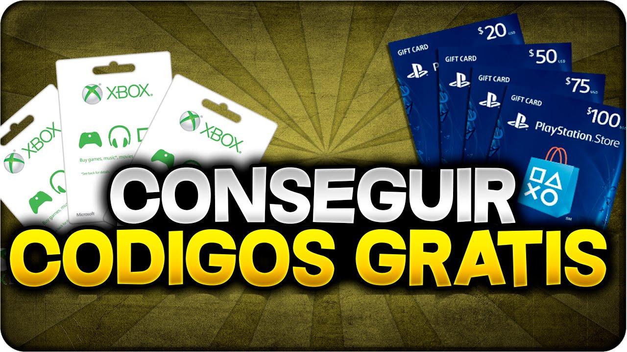 NUEVO CONSEGUIR CDIGOS GRATIS PSN XBOX LIVE GOLD EBAY GIFT CARD GRATIS 2016 TARJETAS YouTube