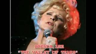 BRENDA LEE - THE VALLEY OF TEARS YouTube Videos