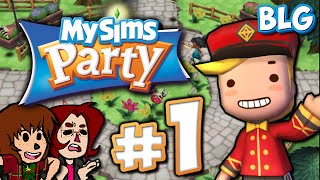 Let's Play MySims Party - Part 1- Rise of Blugrpi!!