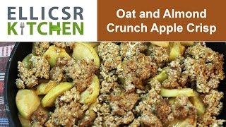 Oat And Almond Crunch Apple Crisp