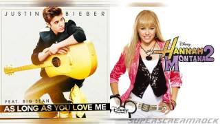 """As Long As You See Me Again"" - Mashup of Miley Cyrus/Justin Bieber"