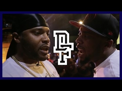 MATH HOFFA VS CHILLA JONES | Don't Flop Rap Battle