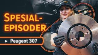 Hvordan erstatning Bremseskiver PEUGEOT 307 2011 - bruksanvisning