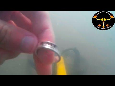 Подводный поиск. Кольцо от Гуччи Underwater metal detecting. Ring Gucci