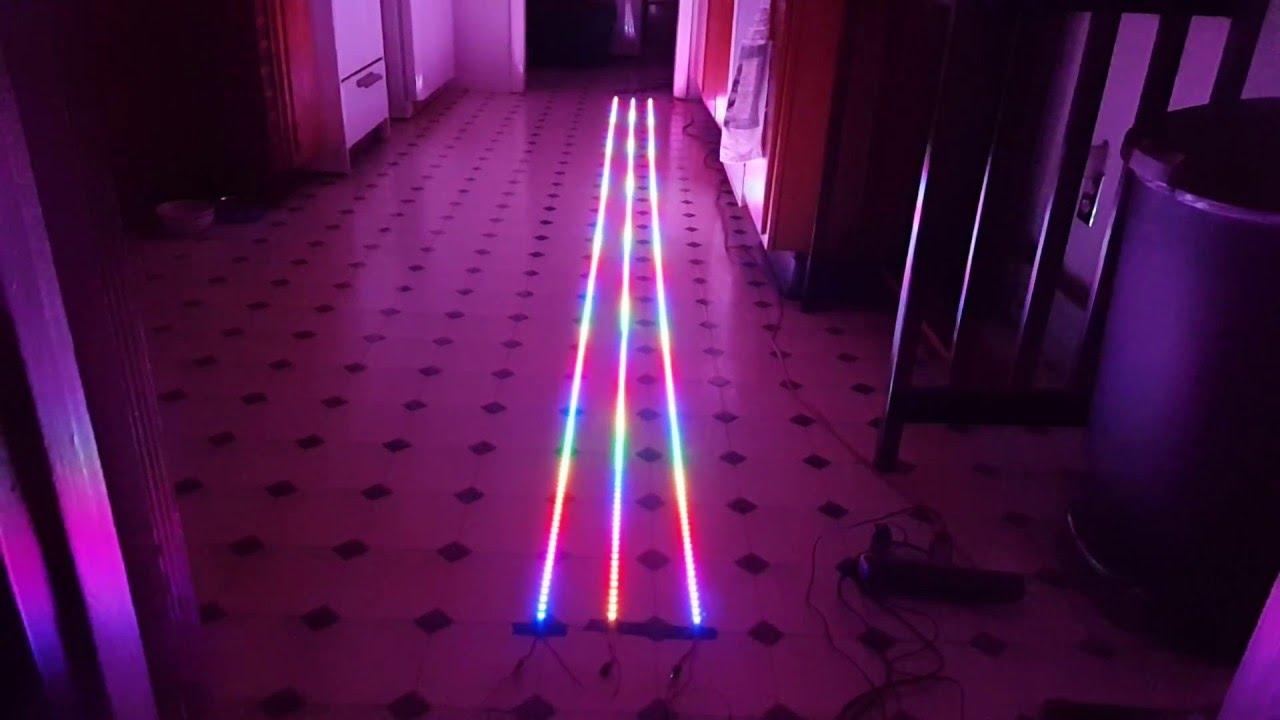 12V LED Strip 5m 2835SMD WIFI Bluetooth APP Kontrolliert Streifen Lichterkette