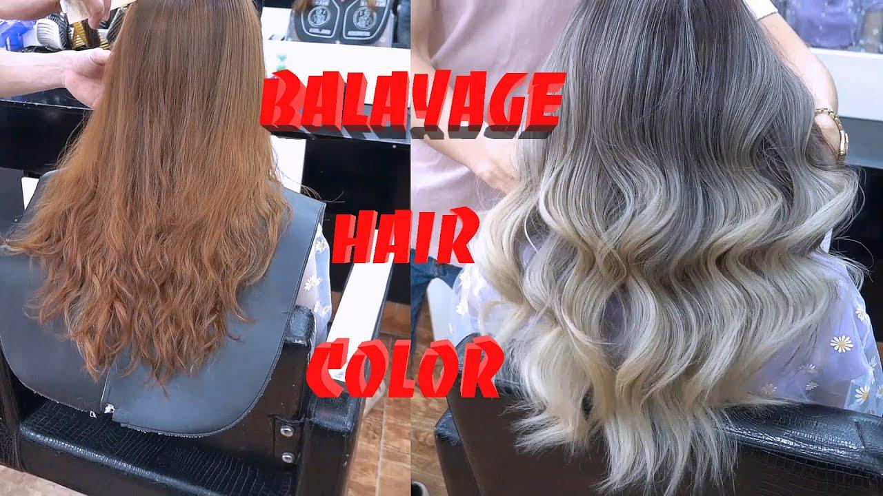 Hướng dẫn nhuộm tóc bằng kĩ thuật balayage, Balayage hair color. | Tổng hợp những nội dung về balayage là gì đầy đủ nhất