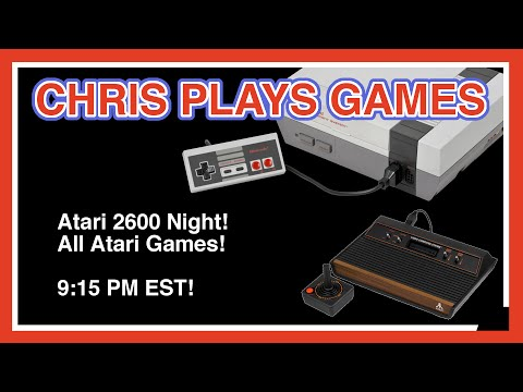 Yars Revenge, and More! - Atari 2600 Night! - All Atari Games
