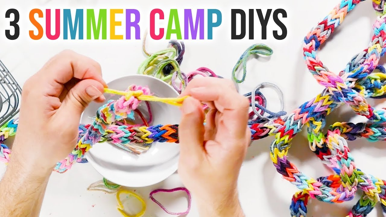 3 Summer Camp DIY Projects - HGTV Handmade